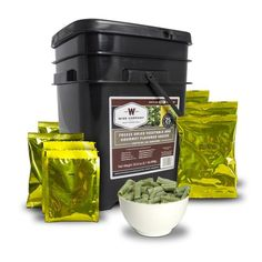 Wise Company Freeze Dried Vegetables and Gourmet Flavored Sauces Food Kit, 136 pc Dehydrated Vegetables, Dried Vegetables, Veggies, Apocalypse Now, Wise Foods, Cheese Packaging, Emergency Food Supply, Survival Food, Survival Tips
