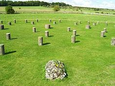 Woodhenge. Thought to have predated  Stonehenge. I'm so glad we found it, as it's not marked well, and tourists don't seem to care...great article about many of England's henges