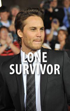"Ellen: Mark Wahlberg & Taylor Kitsch ""Lone Survivor"" + The Murph Taylor Kitsch Lone Survivor, Tv Actors, Actors & Actresses, The Murph, Marcus Luttrell, Tim Riggins, The Normal Heart, Ellen Degeneres Show, Amor"