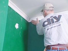 The addition of crown molding to your home's interior is a tasteful way to add visual interest as well as value. See step-by-step instructions for installing crown molding from the experts at DIYNetwork.com.