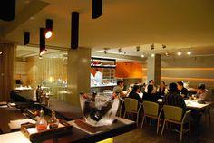 """Espai KRU (abierto sept-12). Ubicado en la primera planta del restaurante Rias de Galicia y que tienen como socios a Ferran Adria. Las criticas son estupendas, sobre todo para quíen le gusta el marisco... aunque hay que tener en cuenta su precio: 90€. Asi que es lo pongo en lista de pendientes para ocasiones """"muy especiales""""."""