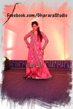 My beautiful client. Pink & Green Gharara with long kurti. Mail or whatsapp us to know the detail of this exclusive Gharara.  #Gharara #gharara4u #ghararadesign #GhararaStudio #pakistani #pakistanigharara #longkurti #wedding #weddinggharara #pink #green #orderonline #cutomised #customisedgharara