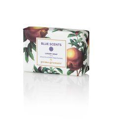 Blue Scents Luxury Soap Pomegranate