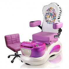 Kids Spa Pedicure Chair our new are designed for young children and are a great way to add extra services to your business Spa Pedicure Chairs, Pedicure Spa, Little Girl Rooms, Little Girls, 10 Year Old Gifts, Jojo Siwa Birthday, Unicorn Birthday, Birthday Cake, Nail Salon Furniture