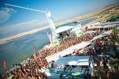 Zrce Beach - Novalja, Croatia  Club Papaya/Aquarius  = Check!