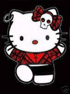 Emo Hello Kitty Wallpaper | Hello Kitty & Emo