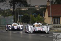 24H Mans! Winner: Audi.