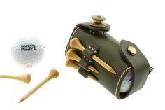 ■コメント高級オイルレザー(栃木レザー)で仕立てた、とても使いやすいゴルフボールポーチです。ボール2個とサイド部分にティーを3本収納出来ます。メインホックはド...|ハンドメイド、手作り、手仕事品の通販・販売・購入ならCreema。