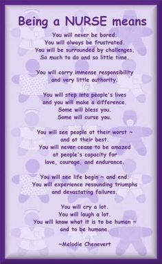 Being a nurse.... Wow someone successfully put nursing into words. I love this