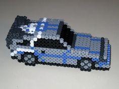 Image result for 3d perler bead car