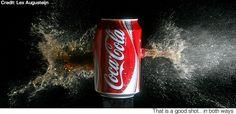 Sorry, kids, the coke's blown up.