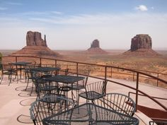 The Restaurant at the View Hotel at Monument Valley, Navajo Tribal Park