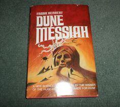 DUNE MESSIAH, Frank Herbert, 1969 HC/DJ BCE, Book Club Edition Book, Good Shape!