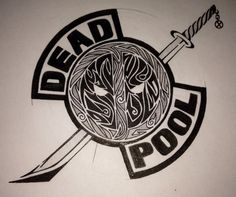 Deadpool Logo by guiltyspark0343.deviantart.com on @DeviantArt