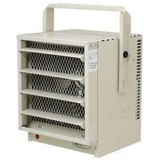 Heat your garage or workshop with ease using this electric garage heater from NewAir Appliances, which heats up to 500 square feet for a comfortable work environment. Work comfortably throughout the y