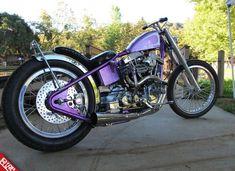"""1975 Shovelhead """"The Purple Nurple"""""""