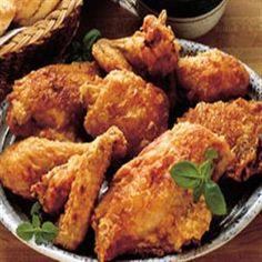 Grandma's Sunday Fried Chicken and Gravy