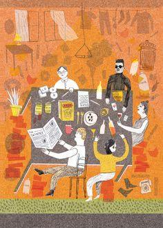 Student Handbook - Louise Lockhart | Illustration | Design | The Printed Peanut