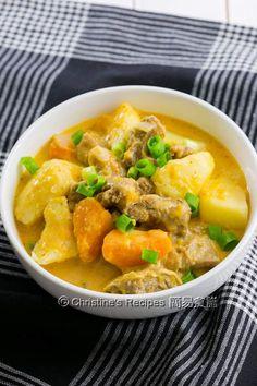 紅咖哩炆牛腩 Red Curry with Beef Brisket in Instant Pot01