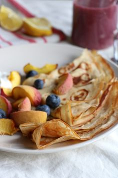 Beurre Noisette Honey Crêpes