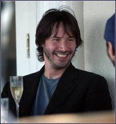 Keanu Reeves ...happy