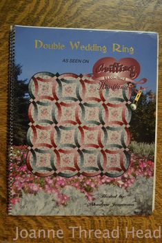 Double Wedding Ring binding video by Shar Jorgenson YouTube Am I