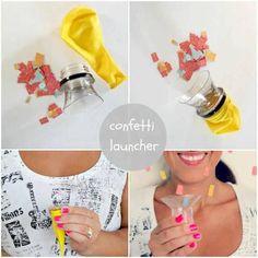 Lanza confetti casero - blog.holamama.es