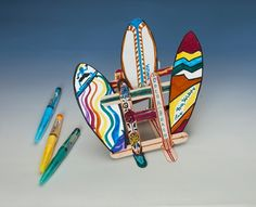 Surf's Up! Boards craft @Evie Shaefer@Ruth Ondelacy@Kate Lindemann