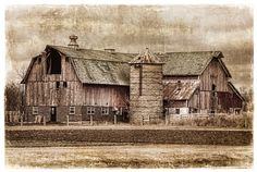 A Wisconsin Barn shot by a friend and talented photographer, Peter Hernandez.