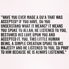 Of course! All the time! Allah answers my prayers and does what's best for me. I'm always blessed and always grateful! Subhan'Allah