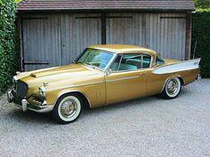 1957 #Studebaker Golden Hawk. #Style #Design #Classic #Beauty