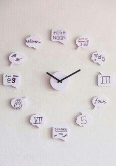 DIY clock 《so precious & adorable》