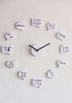 DIY clock 《so precious & adorable》