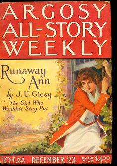 Argosy All-Story Weekly – 12/23/22 – Adventure House