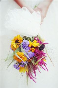 Extreme DIY: Grow your own wedding flowers.