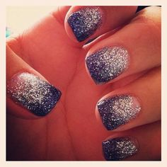 i want this but with peach instead... maybe a tad less glitter :)