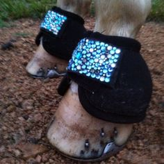 Bling Bell Boots Overreach Protection Custom by HUSTLEandHOME, $55.00