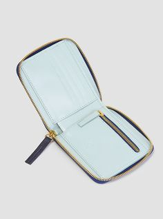 Couverture and The Garbstore - Womens - Clare V - Mini Spot Half Zip Wallet