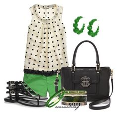 """""""Spring for Green"""" by wannabchef ❤ liked on Polyvore"""