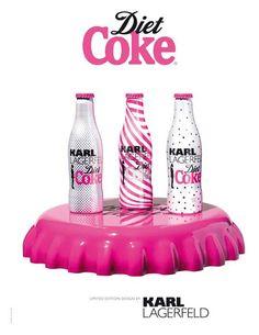 Diet Coke Bottles 2011 by Karl Lagerfeld