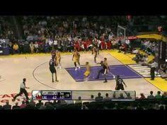 NBA CIRCLE - Portland Trail Blazers Vs LA Lakers Highlights March 23, 2012 www.nbacircle.com