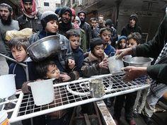 Campo de refugiados palestinos de Al Yarmuk, en el sur de Damasco.
