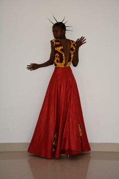 #vestido party, African fabric (bazim), income, and the thinker (a piece of Angolan crafts), applied by hand