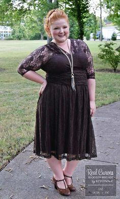 Real Curves for Swinging Symphony Dress-Sale!