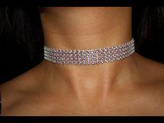# DIY -Perlas para una gargantilla pulsera o cinturón# DIY - Necklaces for a bracelet or belt choker - YouTube