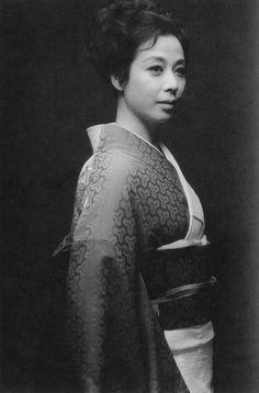 Awashima Chikage 淡島千景 (1924-2012) - Japanese actress - 1960s