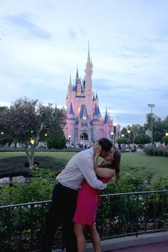 Perfect Disney Proposal at the Be Our Guest Restaurant! :)