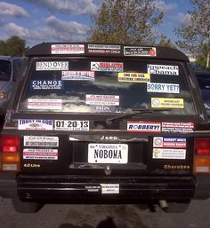 Tell us how you really feel! Funny photos, Funny bumper stickers, crazy tons of bumper stickers