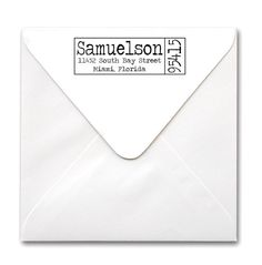 Custom Self Inking Stamp Custom Stamp Personalized by hellopaperie