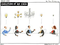 evolution of an idea - Tom Fishburne